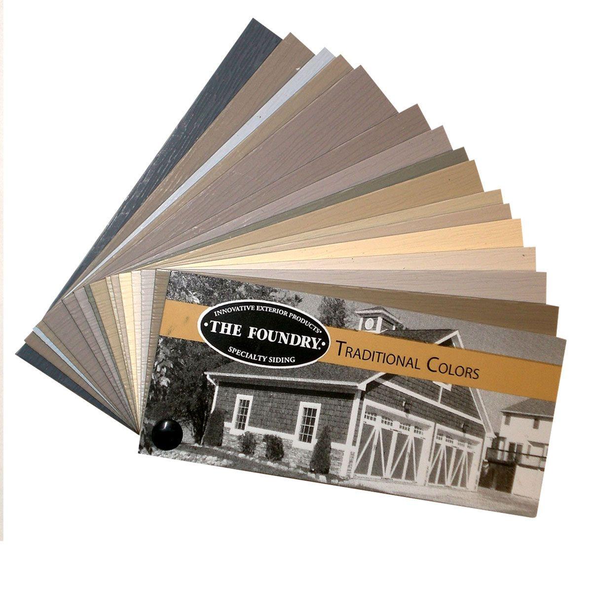 Sample Foundry Color Fan Deck Vinyl Shake Siding Vinyl Siding Siding