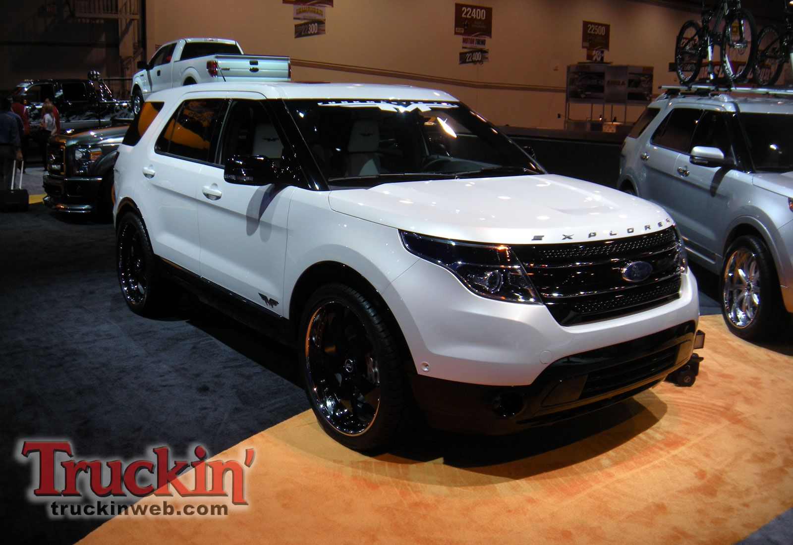 Pin by Michael Cowan on Dream Cars Ford explorer, White