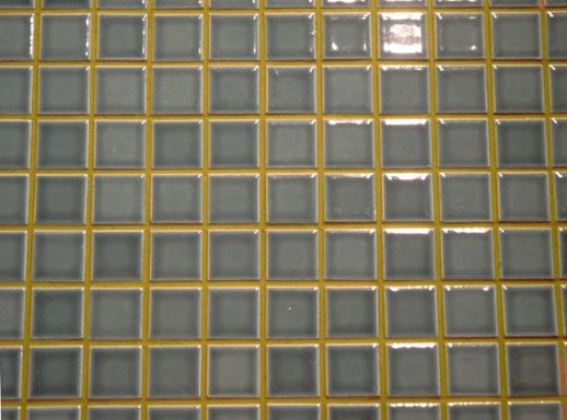 blue tile green grout - Google Search
