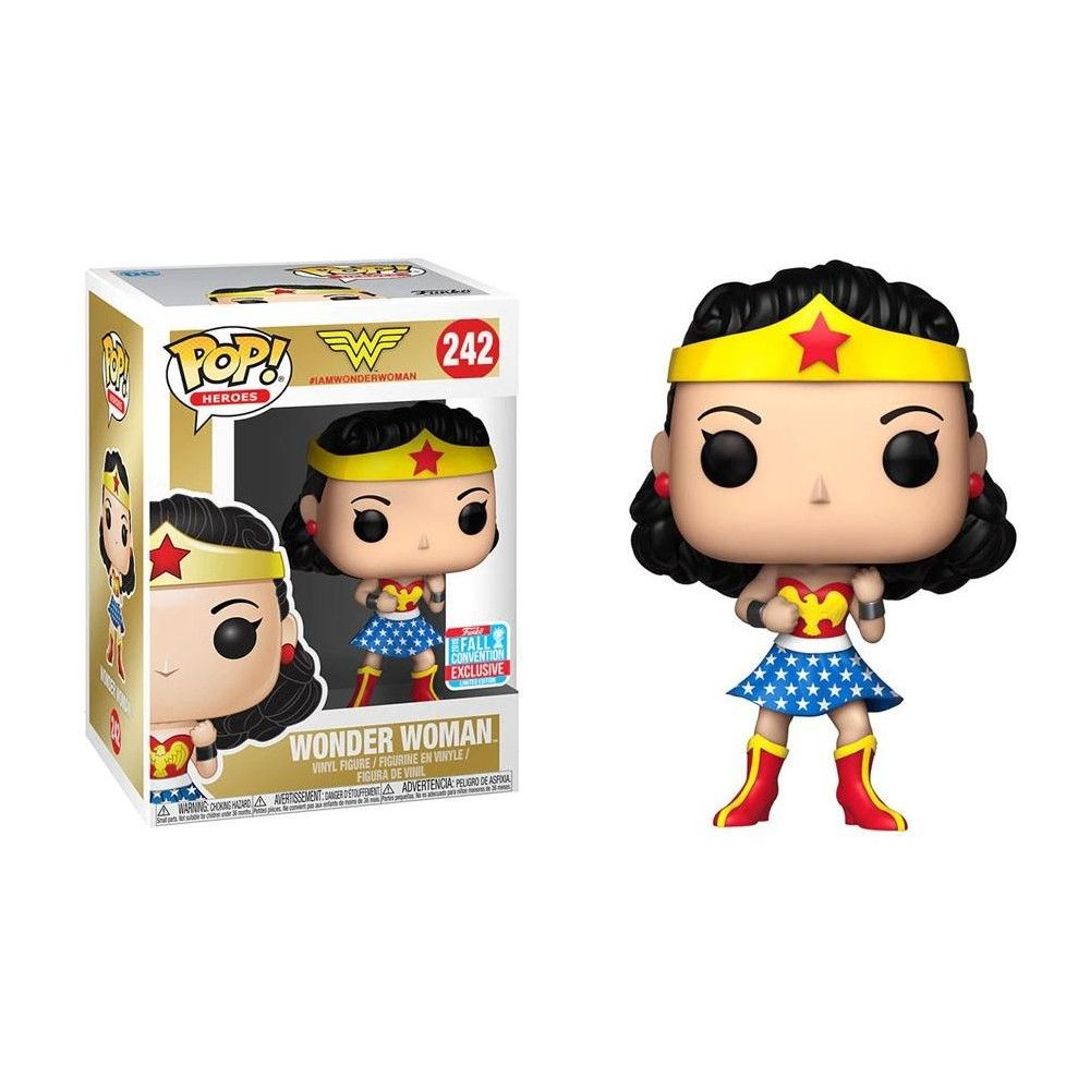 Exclusive Wonder Woman Amazonia Funko Pop Vinyl New in Box