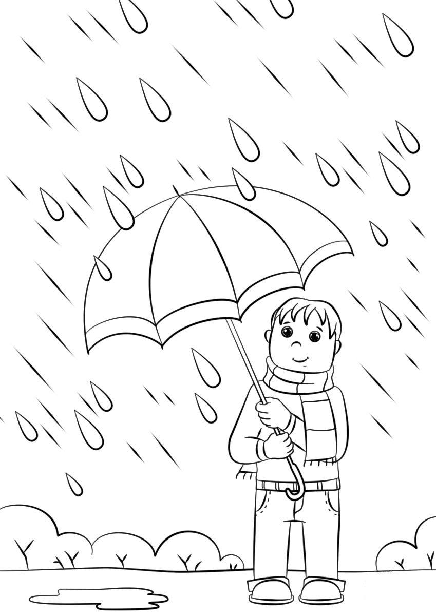 Kolorowanki Jesien Umbrella Coloring Page Free Coloring Pages Online Coloring Pages