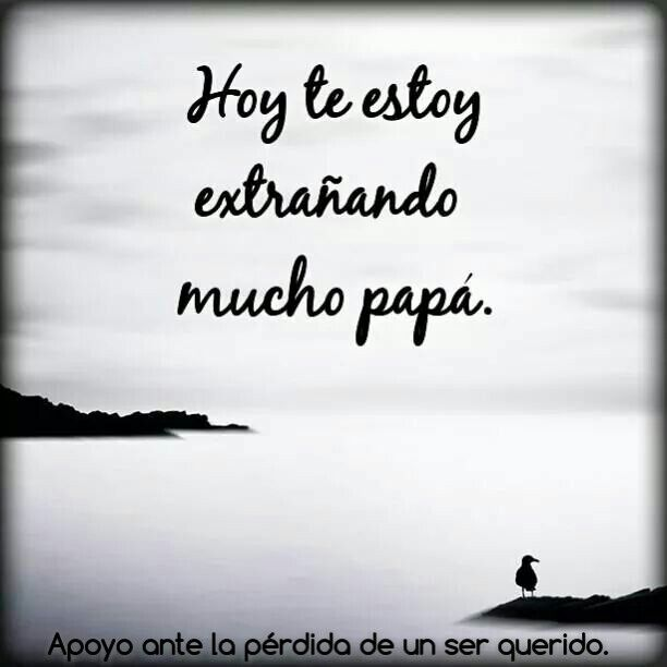I Miss You Spanish Quotes: Papá Te Extraño, Frases