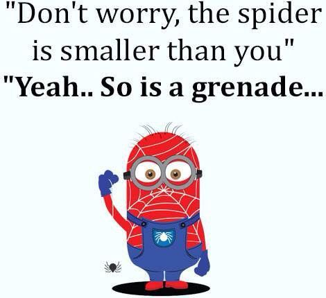 * Spider-Man minion