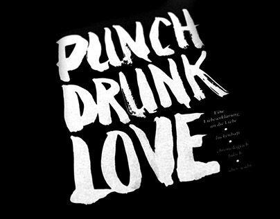 "Check out new work on my @Behance portfolio: ""punch drunk love, a book about drinks, women and stuff"" http://on.be.net/1HefTEK"