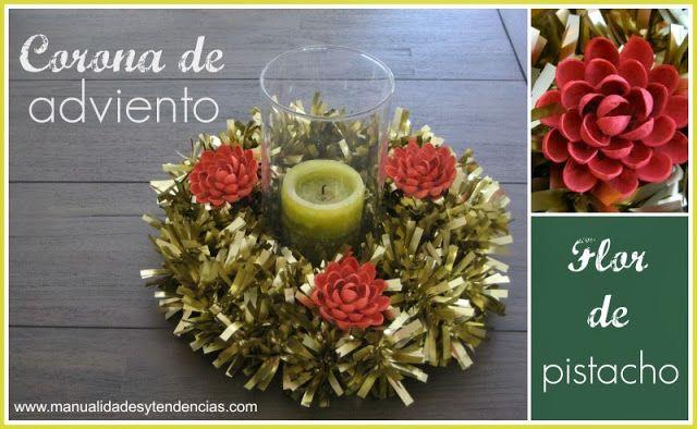 Manualidades y tendencias Navidad Corona de adviento DIY / DIY