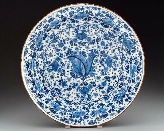 Dutch Blue And White Plate Dutch Delft Late 17th Early 18th Century Blue And White China Museum Of Fine Arts Delft