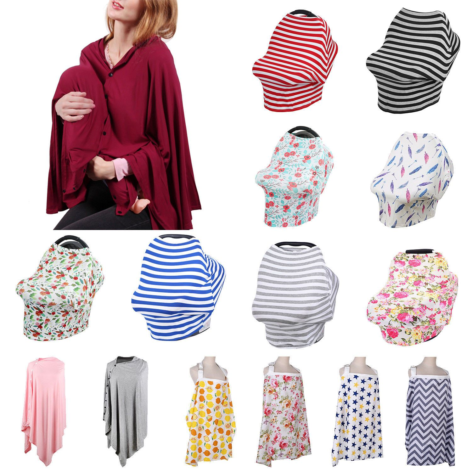 90eeaa36f3e41 Nursing Covers Blankets 184340: Baby Mum Breastfeeding Cover Multiuse  Nursing Canopy Blanket Apron Carrying Case