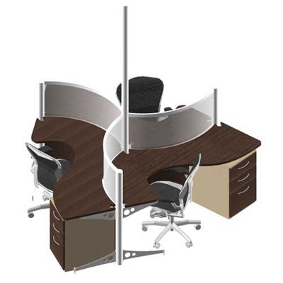 Modular Office Furniture   Workstations, Cubicles, Systems, Modern,  Contemporary #16276
