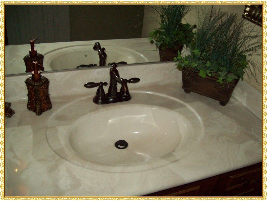 Keep The Beauty of Cultured Marble Countertops Cultured