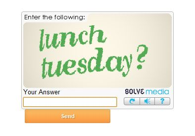 Have I just been asked out by a captcha code?