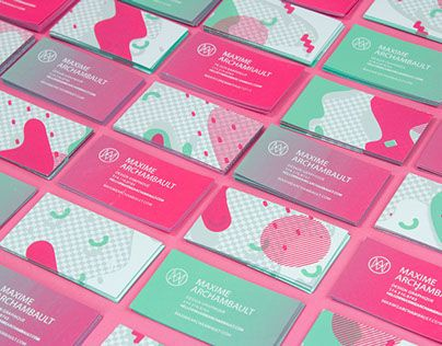 I had access to a screen printing studio so i decide to design a the 20 most creative business cards of the year colourmoves