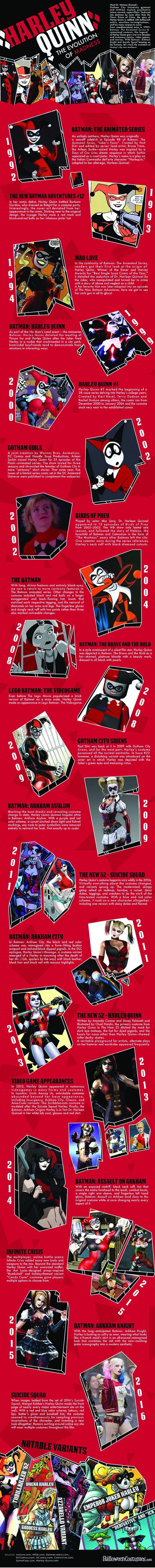 Harley Quinn Infografia
