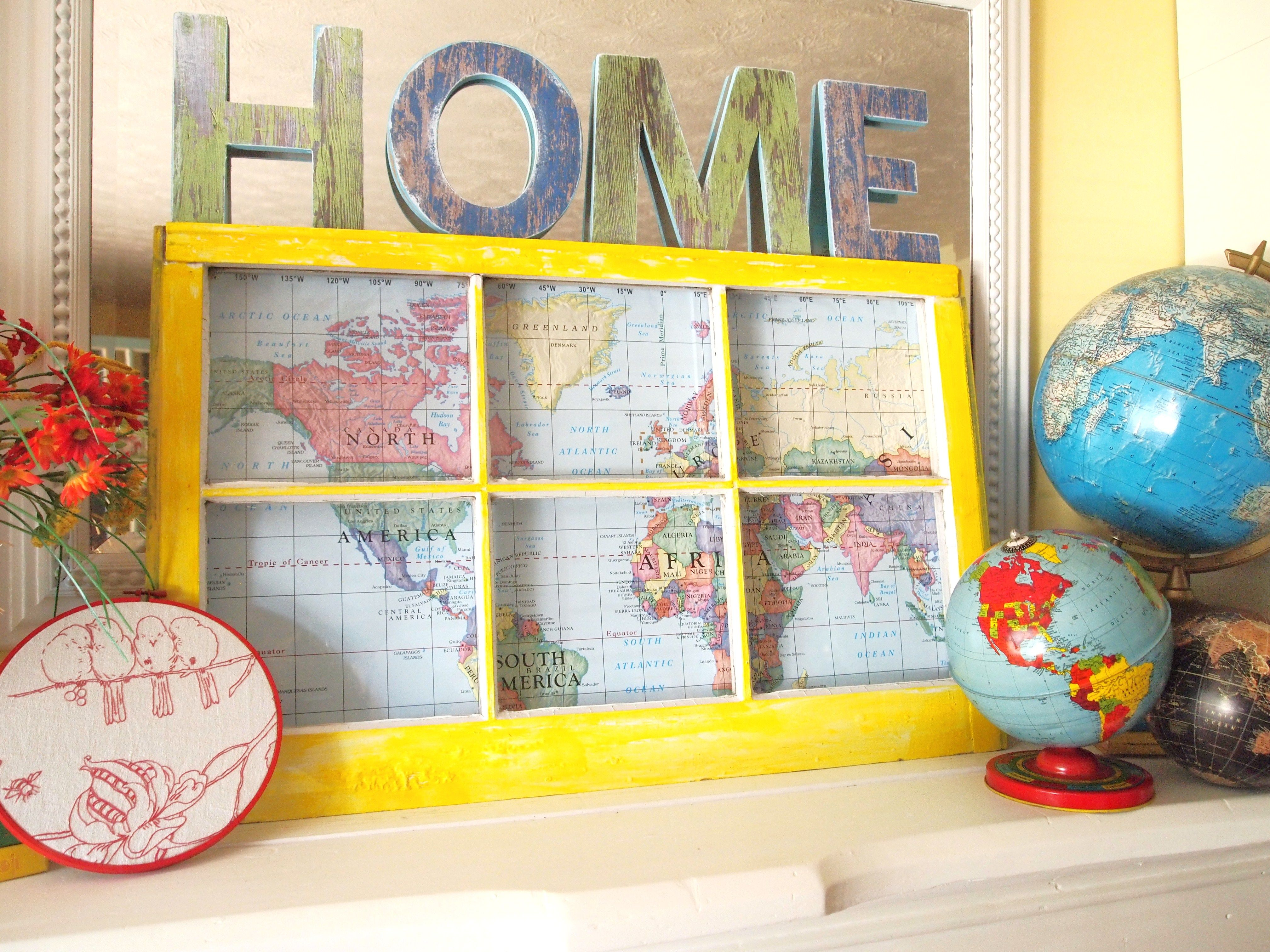 Inspired Ways To Use Old Windows | Window, Window frames and Upcycle