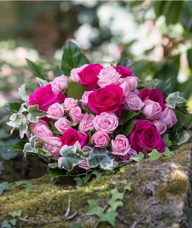 Joli Bouquet De Roses Caprice