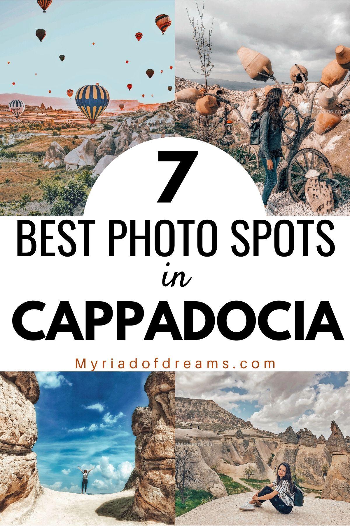 7 INSTAGRAMMABLE PLACES IN CAPPADOCIA TURKEY