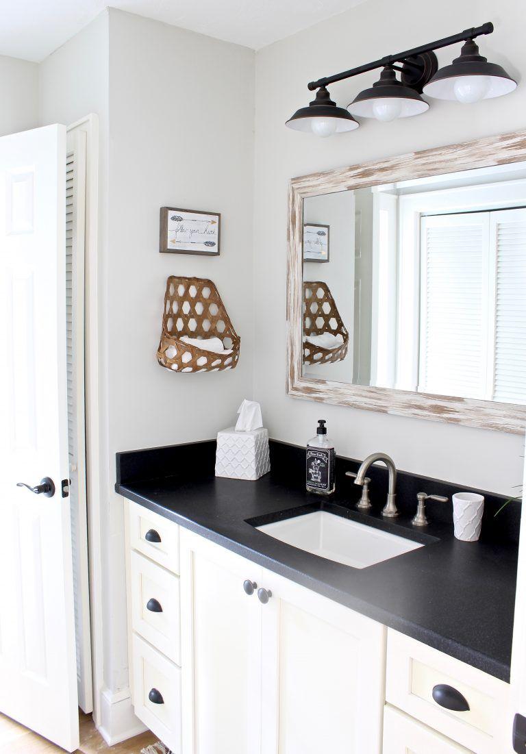 JackandJill Bathroom Makeover Modern bathroom decor
