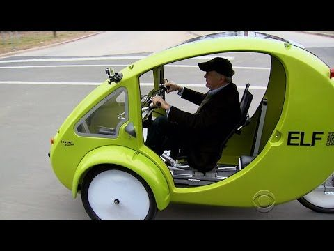 A Look At Elf The Solar Powered Bicycle Car Hybrid Powered Bicycle Hybrid Car Solar Car
