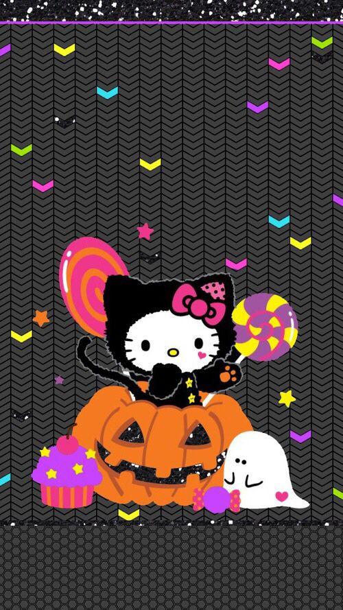 Hello Kitty Halloween Wallpaper Hello Kitty Wallpaper Hd Hello Kitty Halloween Hello Kitty Iphone Wallpaper