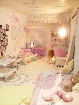 Pin By Chelsea Somenew On Kawaii Rooms Kawaii Bedroom Cute Room Ideas Bedroom Inspirations
