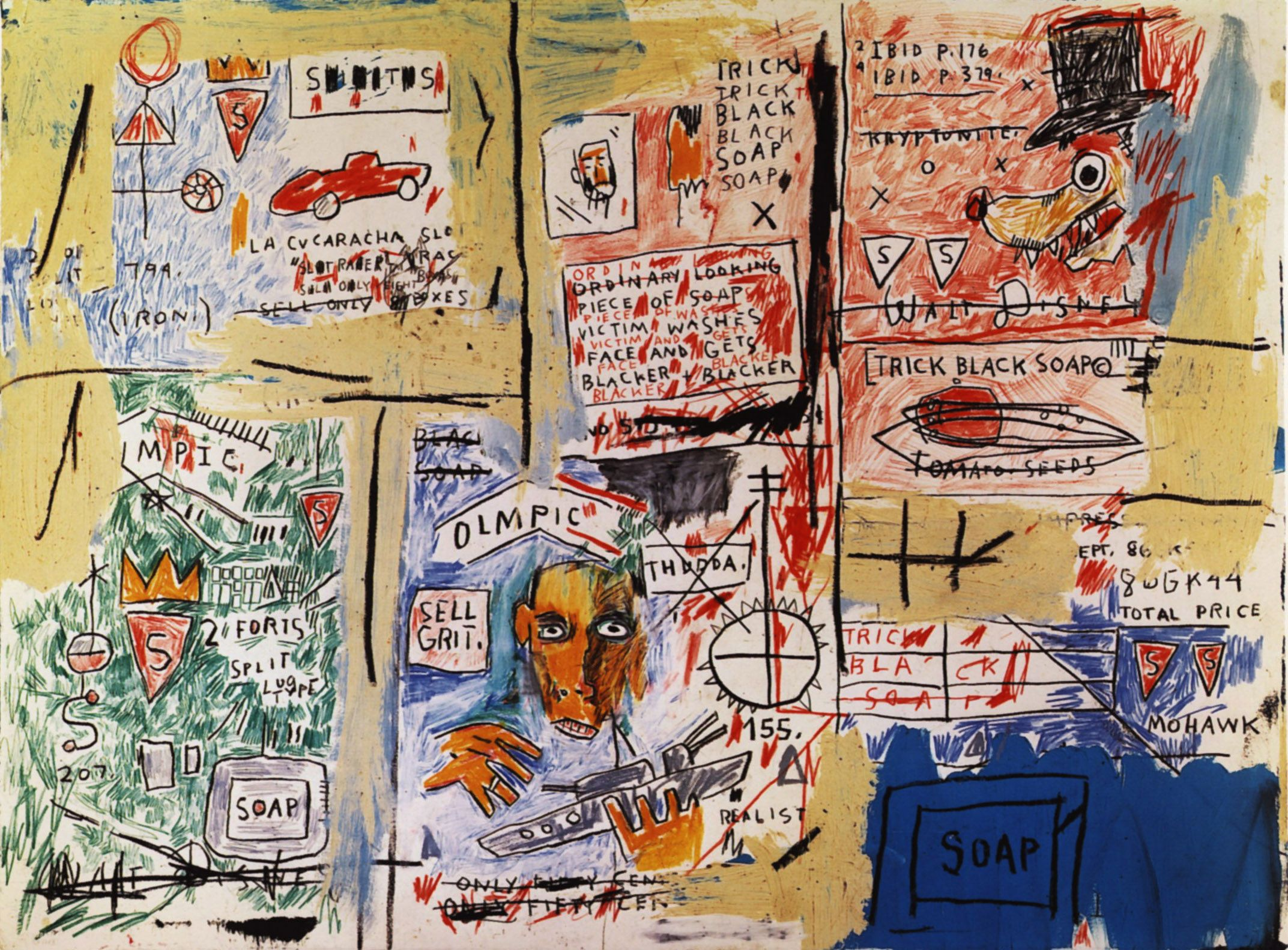 Olympic - Jean-Michel Basquiat