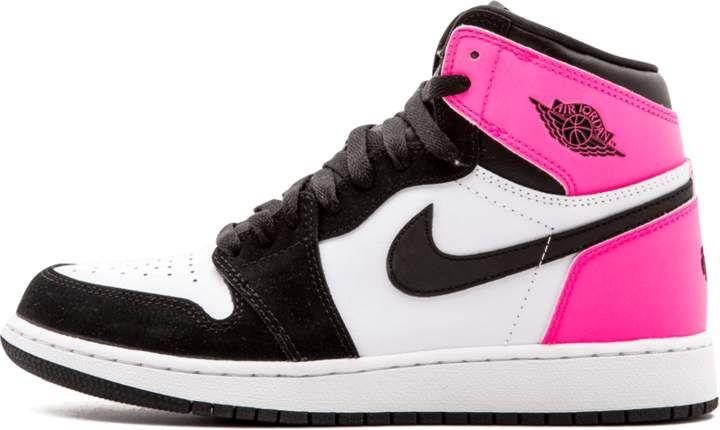 sports shoes 22a3d c16da Jordan Air 1 Retro High OG GG  Valentines Day  - Black Hyper Pink