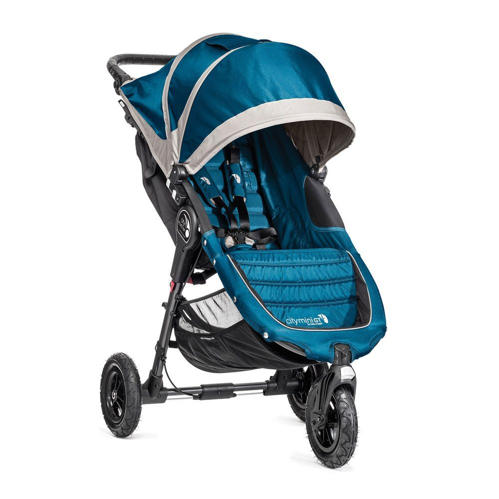 Baby Jogger 2014 City Mini GT Single Stroller Teal//Gray