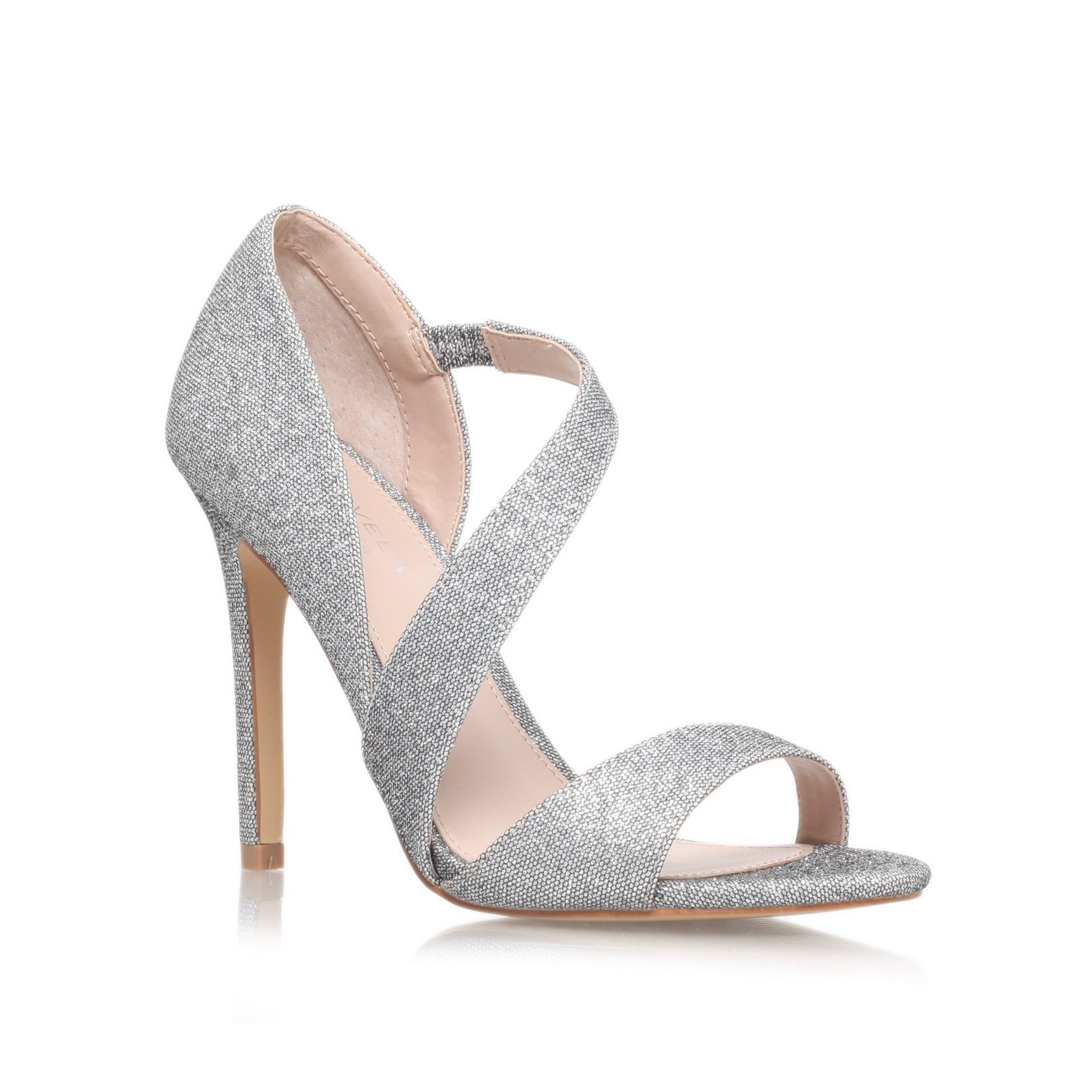 gee silver high heel sandals from Carvela Kurt Geiger | Raphaelle ...