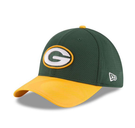 6f07e63bde0d2e Green Bay Packers NFL16 Sideline 39THIRTY Flex Fit Cap By New Era ...