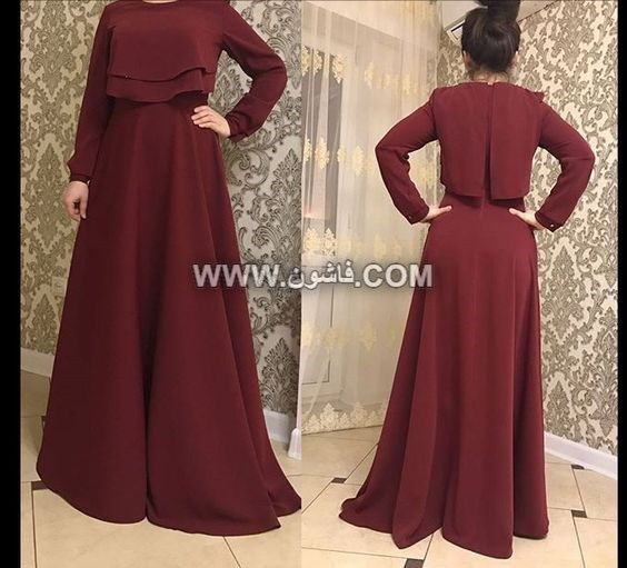 أحدث فساتين سواريه بكاب لعام 2019 للمحجبات Muslim Fashion Dress Muslim Fashion Outfits Trendy Dresses