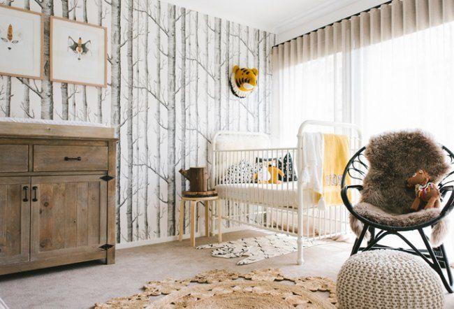 Habitación de bebé de estilo natural   Estilos naturales ...