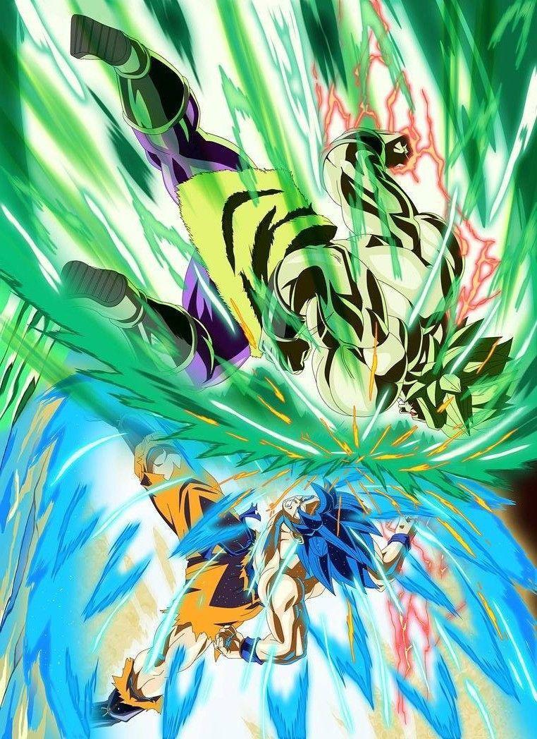 Goku Vs Broly Dbz Pinterest Dragon Ball Dragon Ball Z And