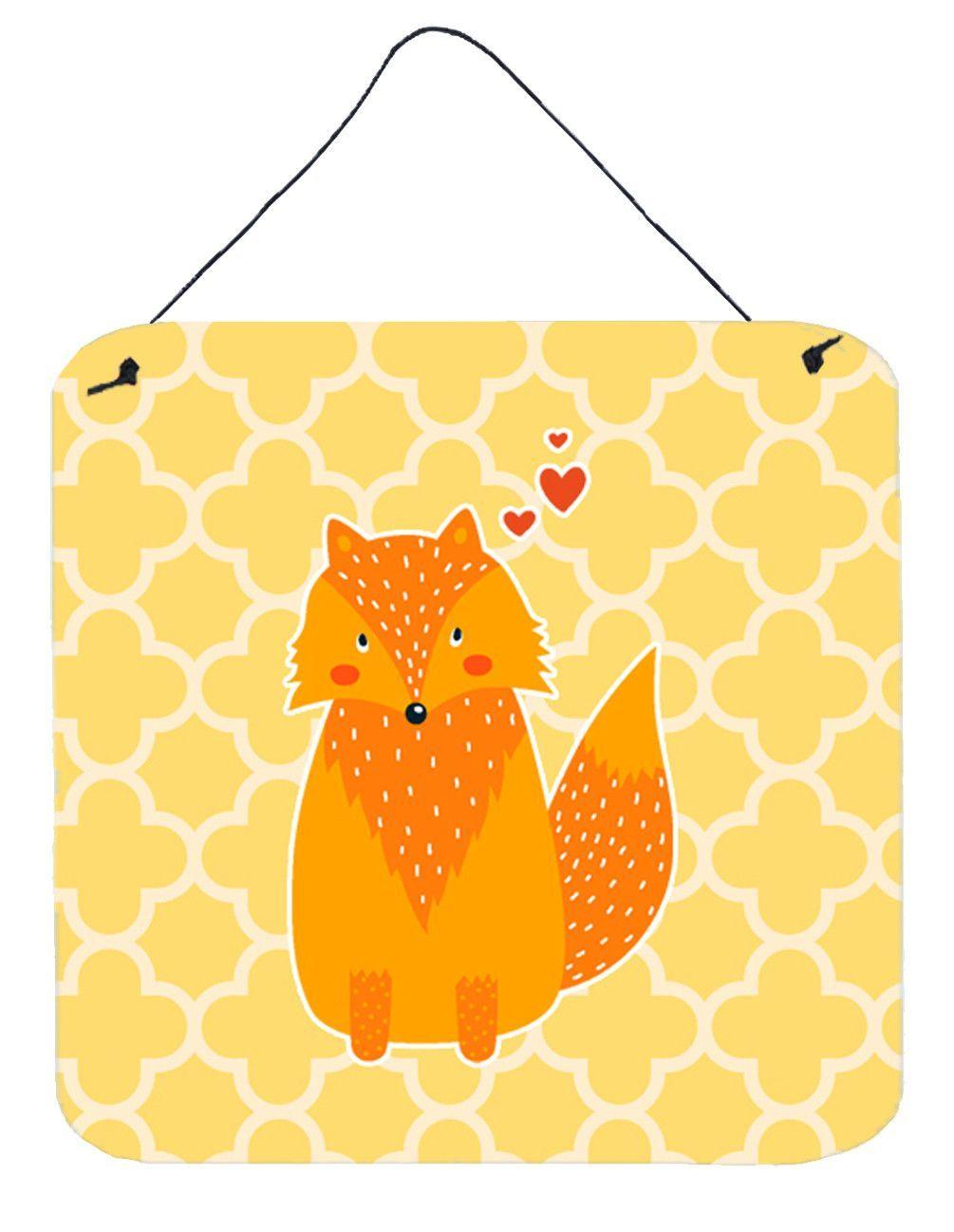 Foxy Love Wall or Door Hanging Prints BB6758DS66