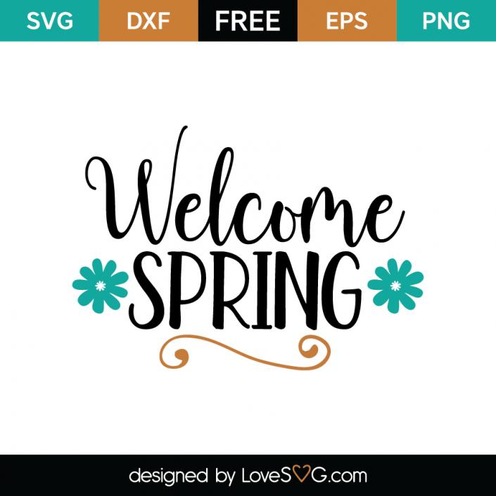 Spring Free SVG Cut Files LoveSVG Free svg