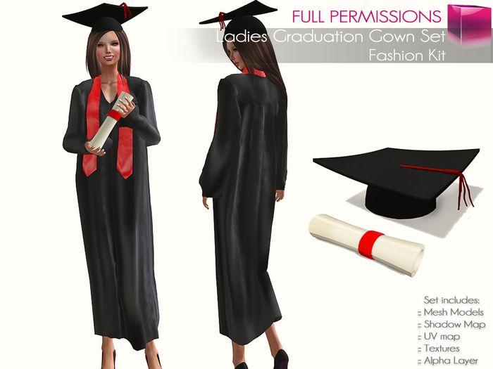 Women Graduation Dress