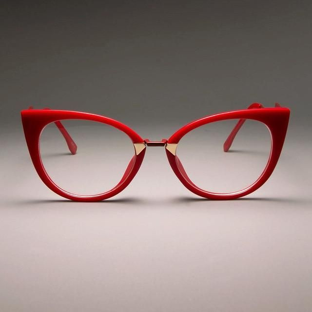 45045 Ladies Optical Sexy Cat Eye Glasses Frames Women GORGEOUS Designer EyeGlasses Fashion Eyewear