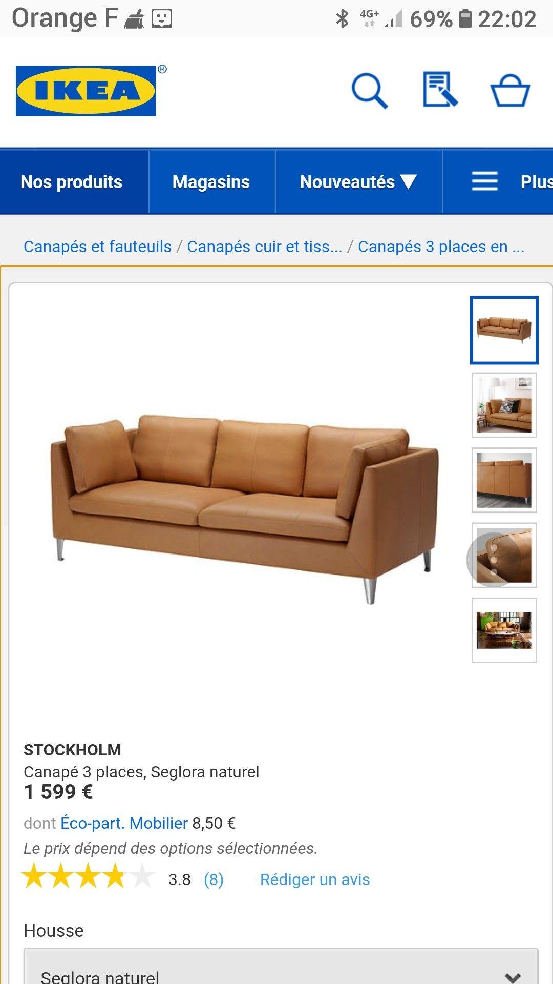 Epingle Par Agnes Marchand Sur Canape Canape Cuir Ikea Com Canape 3 Places
