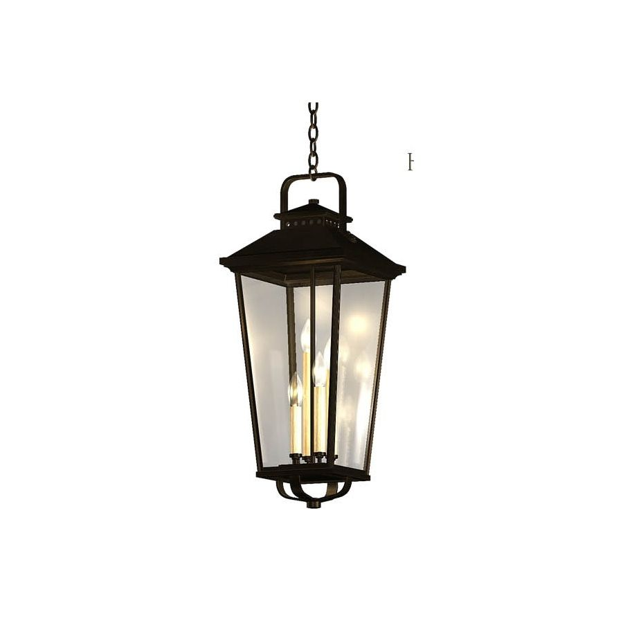 Pendant Lights At Lowes Shop Allen  Roth Parsons Field 27In H Black Outdoor Wall Light At
