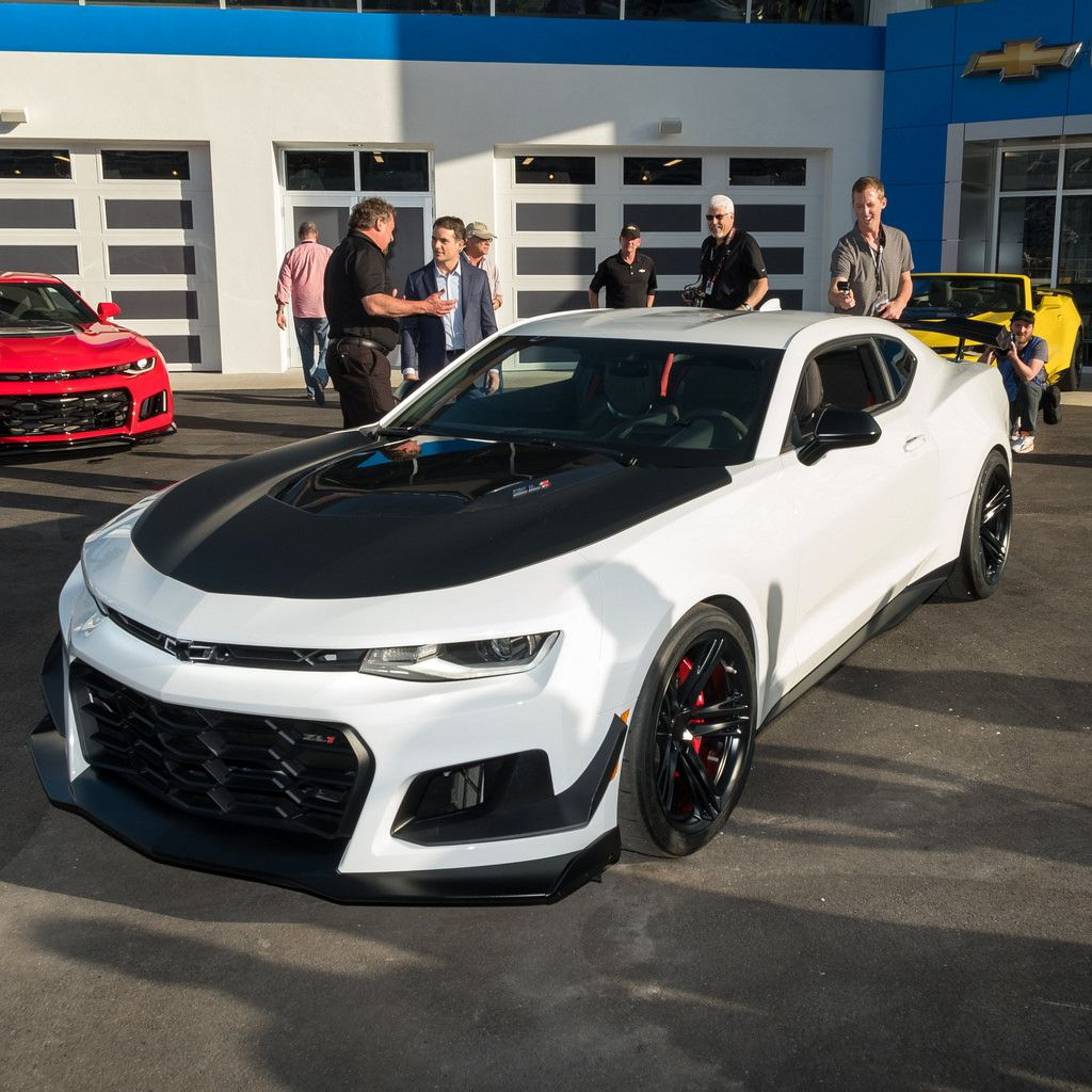 This Is The 2018 Chevrolet Camaro Zl1 1le Camaro Zl1 Chevrolet