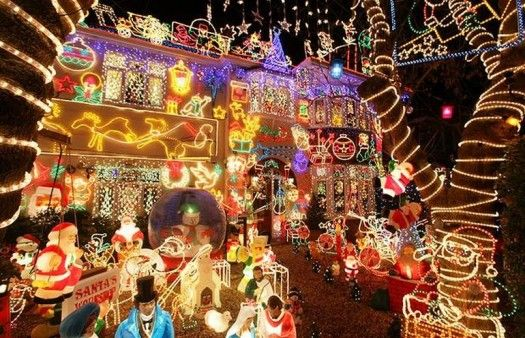 Christmas House Ideas exterior, outstanding outside christmas light decorations design