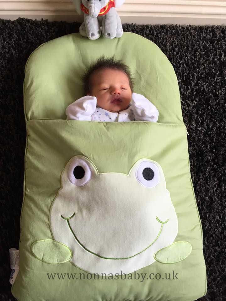 294ac2dde29d Little Theo Rhys Loves His Googly Green Nap Mat! He is so tiny and cute