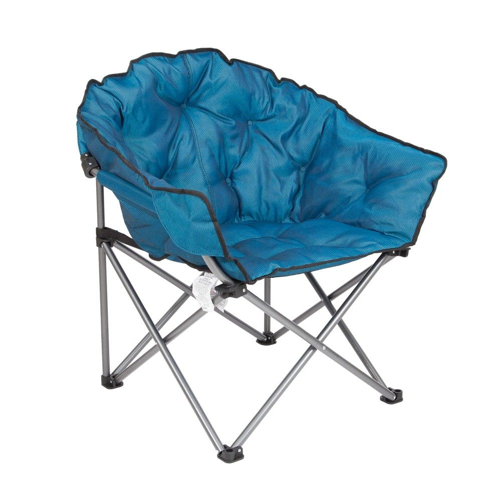 Incredible Mac Sports Folding Padded Outdoor Club Camping Chair With Machost Co Dining Chair Design Ideas Machostcouk
