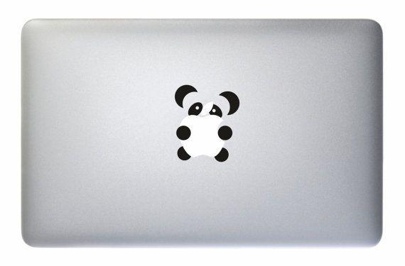 Panda Apple Macbook Laptop Decal Sticker Vinyl Mac Pro