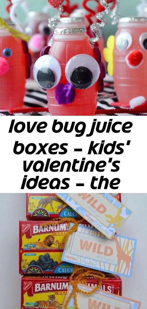 Love bug juice boxes - kids' valentine's ideas - the ...