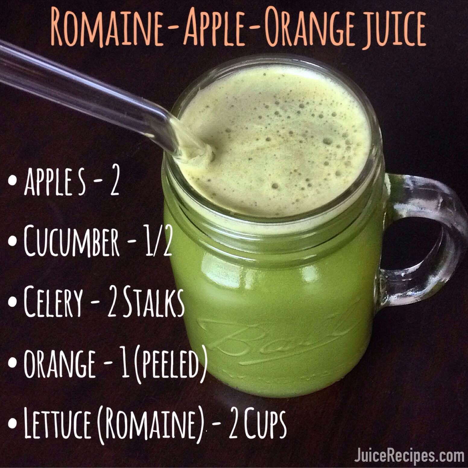 Lettuce Juice Recipe