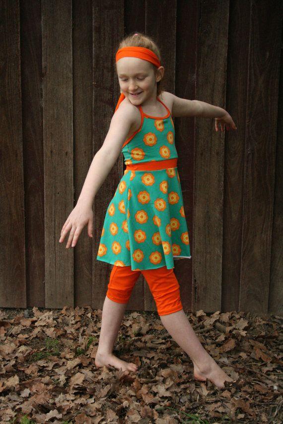 Stella dance dress sewing pattern leggings par tumblentwirl sur Etsy