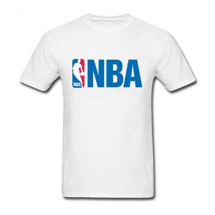 Men's Cotton NBA logo Short Sleeve Tee Shirt | Sports tshirt