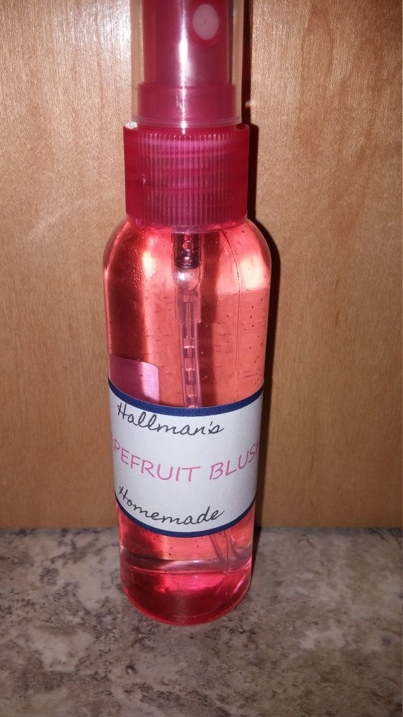 Check out this item in my Etsy shop https://www.etsy.com/listing/269079859/grapefruit-blush-body-spray-2oz