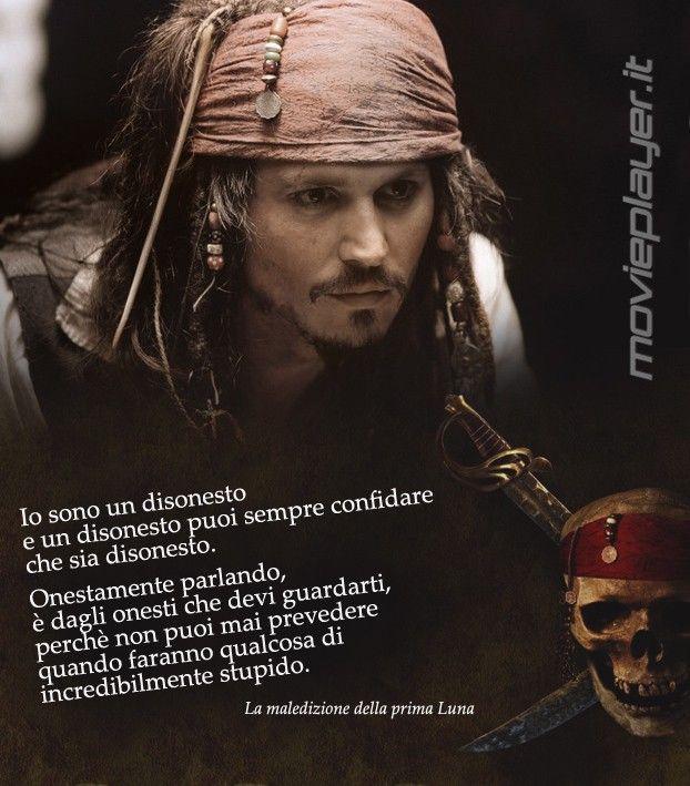 Frasi Sparrow Johnny Depp Ne La Maledizione De La Prima