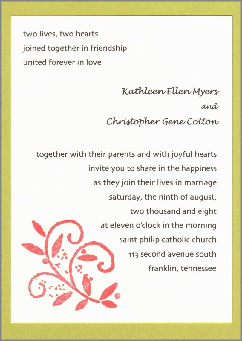Wedding Invitation Wording Templates Email Wedding Invitations Wedding Invitation Wording