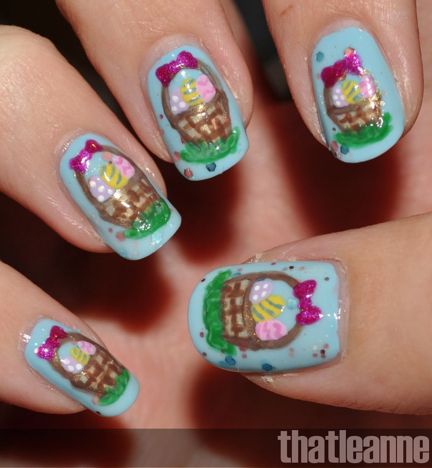 easter+nail+designs | so i figured i had done everything leading up ...